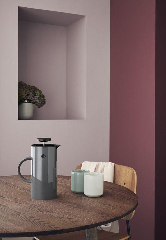 color-amaranto-cucina-pareti