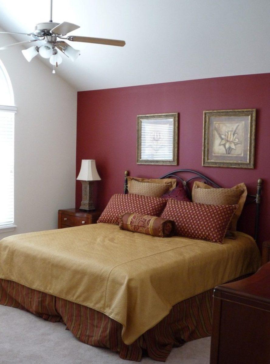 colore-borgogna-camera-letto-testata