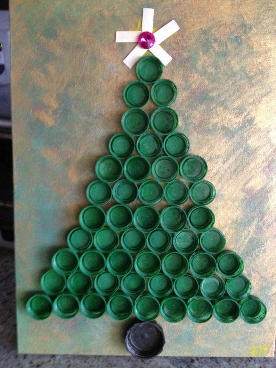 Albero Di Natale Con Bicchieri Di Plastica.Decorazioni Natalizie Con La Plastica 10 Sorprendenti Idee