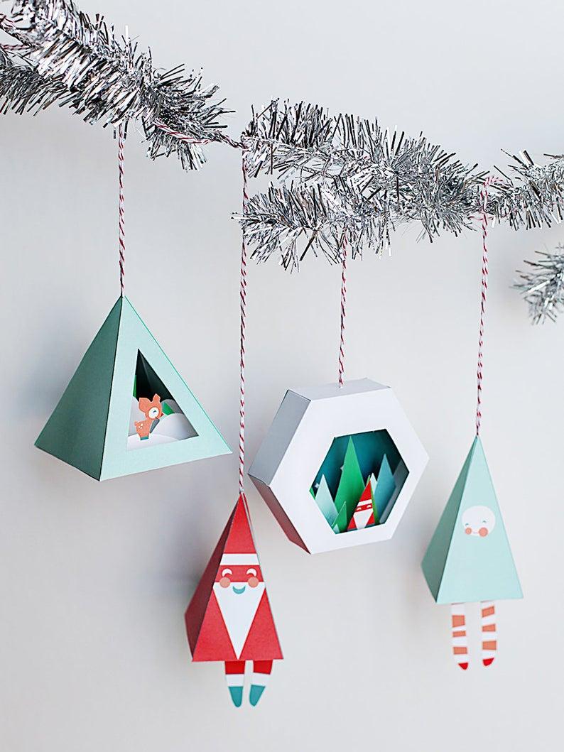 decorazioni-natalizie-carta-casette
