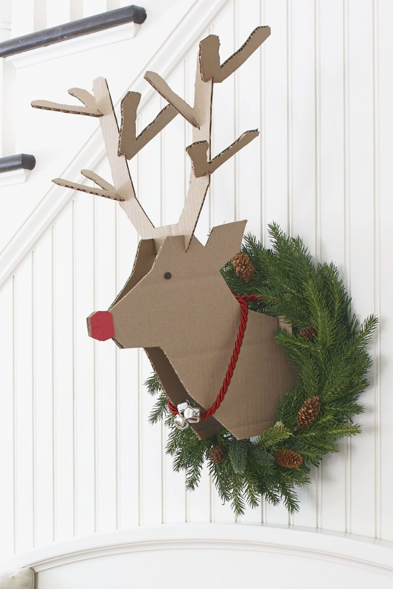 decorazioni-natalizie-renna-cartone