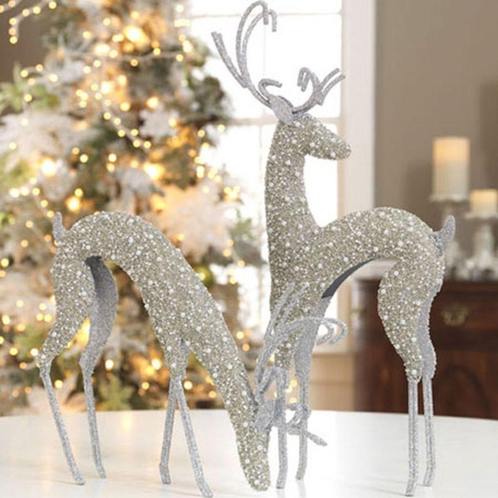 decorazioni-natalizie-renne-glittering