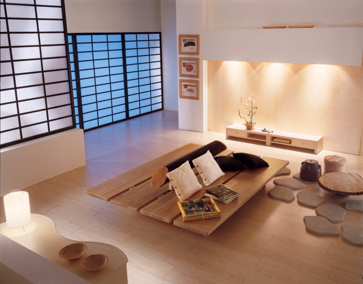soggiorno-stile-giapponese-illuminazione