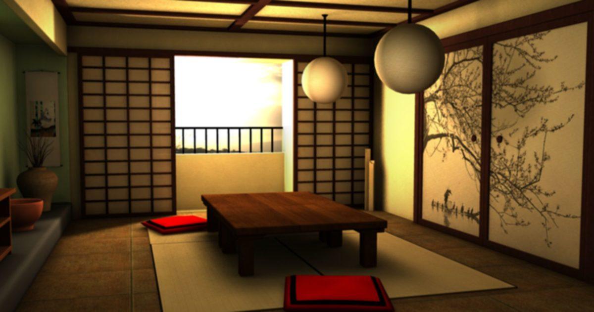soggiorno-stile-giapponese-quadro