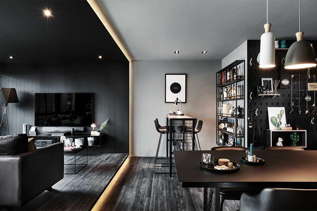 soggiorno-total-black-open-space