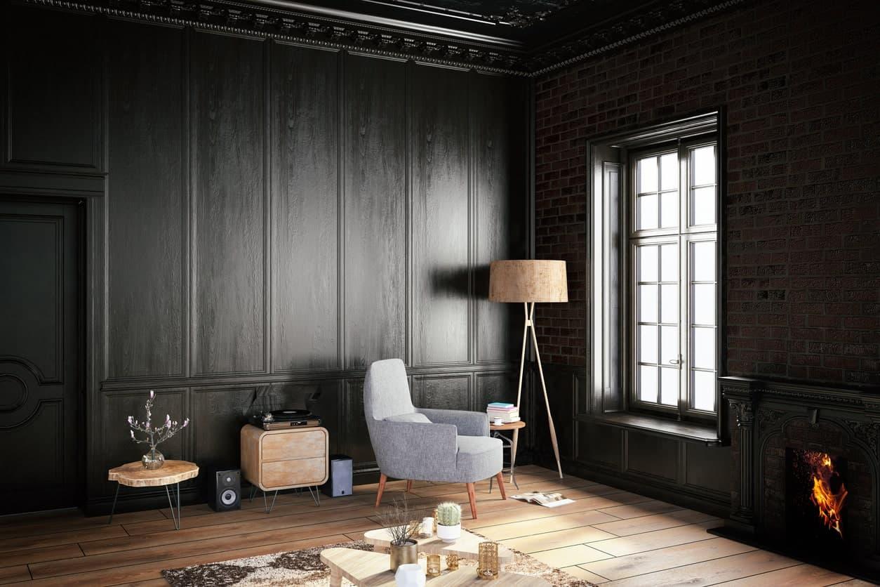 soggiorno-total-black-parquet