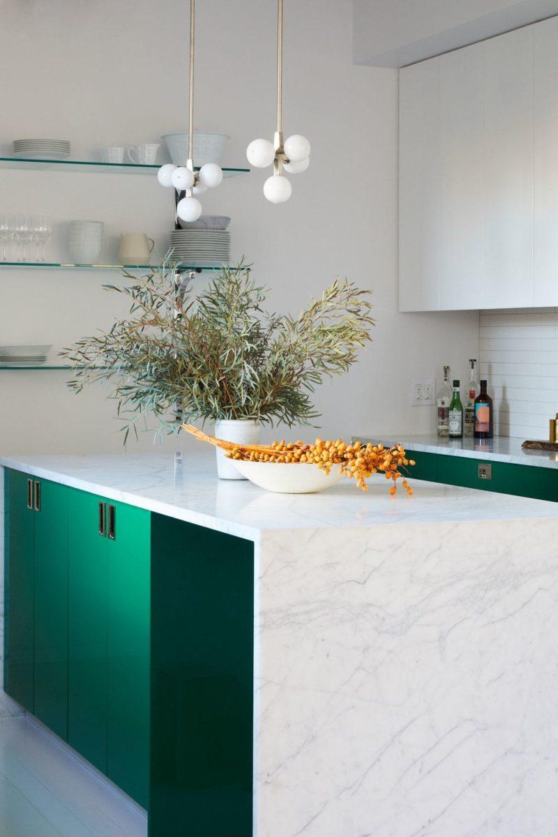 color-verde-caraibi-cucina-mobile