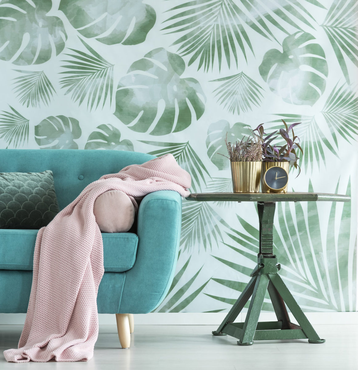 color-verde-caraibi-soggiorno-divano
