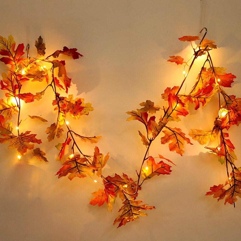 decorazioni-natalizie-arancioni-ghilrlanda-foglie