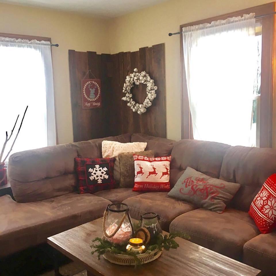 Cuscini Per Divani Ai Ferri decorazioni natalizie per il divano