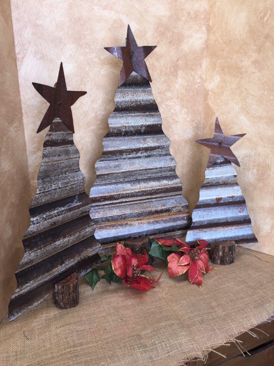 decorazioni-natalizie-ecologiche-albero-metallo