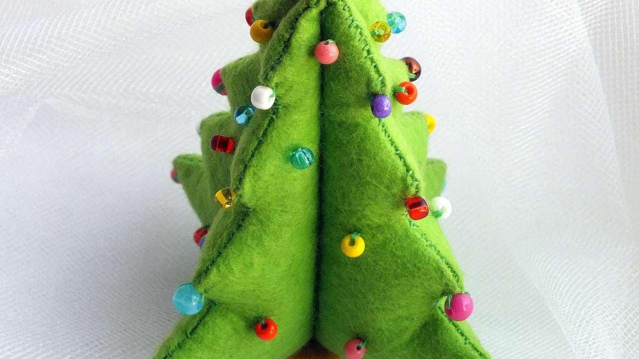 Pannolenci Lavoretti Di Natale.Decorazioni Natalizie In Pannolenci 10 Idee Fai Da Te