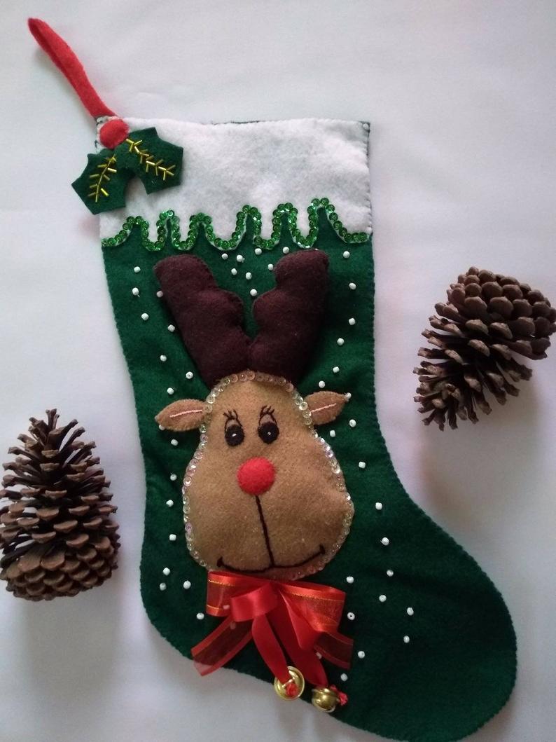 decorazioni-natalizie-pannolenci-calza