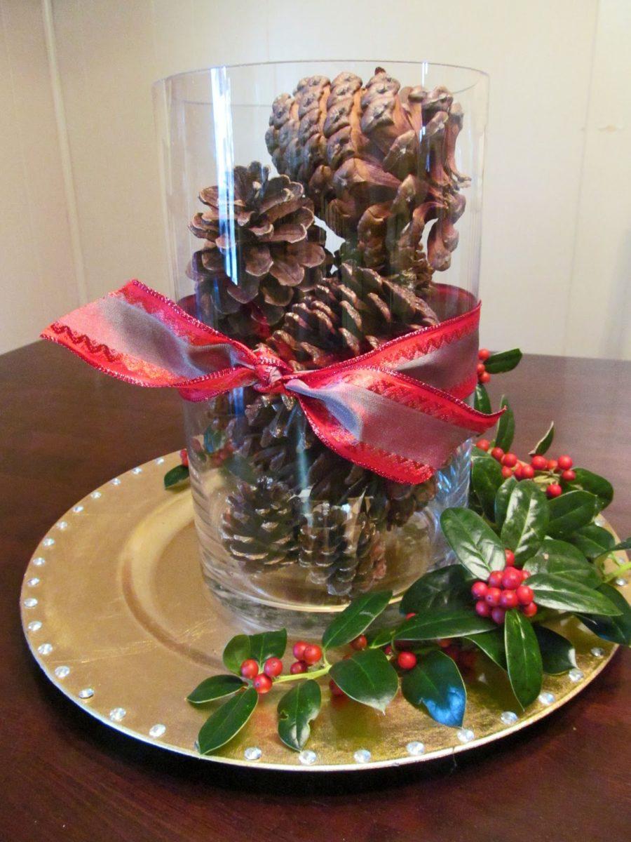 decorazioni-natalizie-pigne-bicchiere