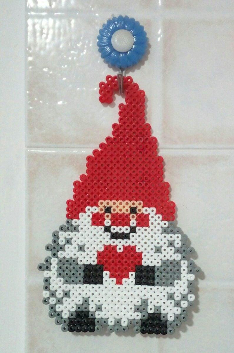 decorazioni-natalizie-pyssla-babbo-ciondolo
