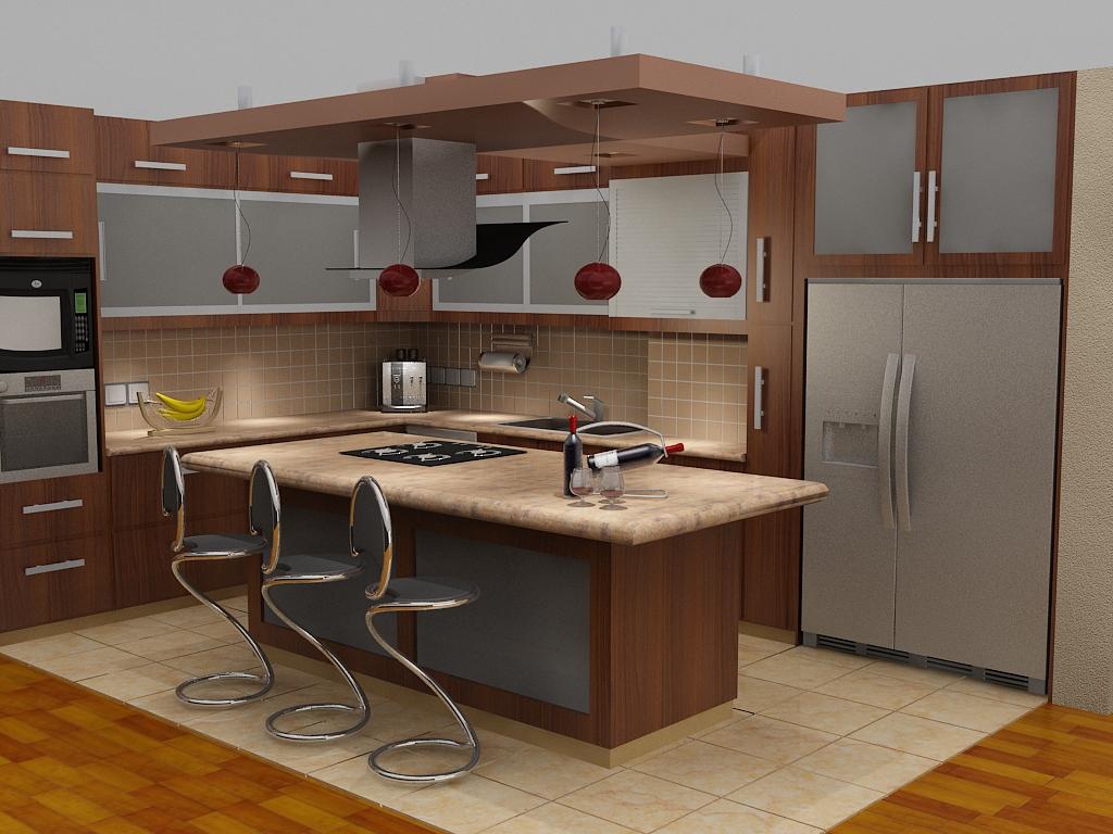 cucina-americana-frigorifero