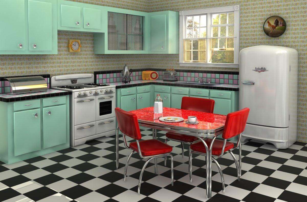 cucina-americana-vintage
