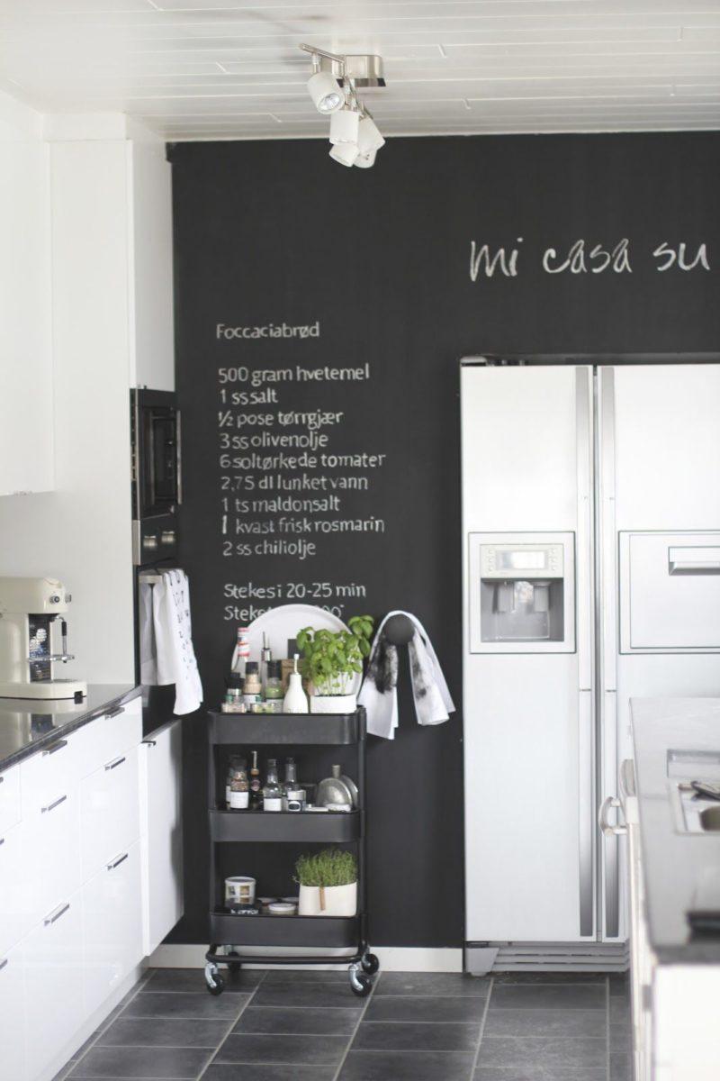 Lavagna Da Parete Cucina le proposte più intriganti per la cucina effetto lavagna