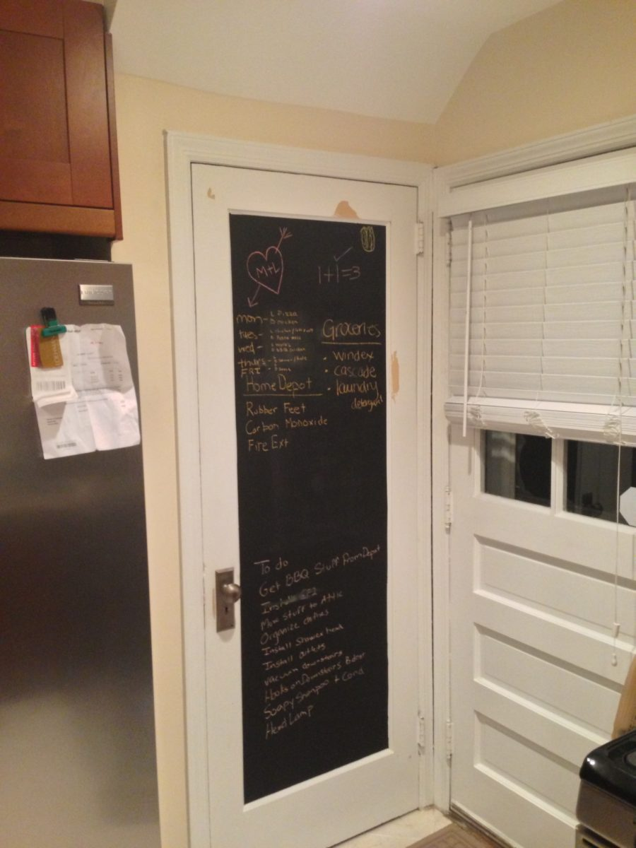 cucina-nero-lavagna-porta