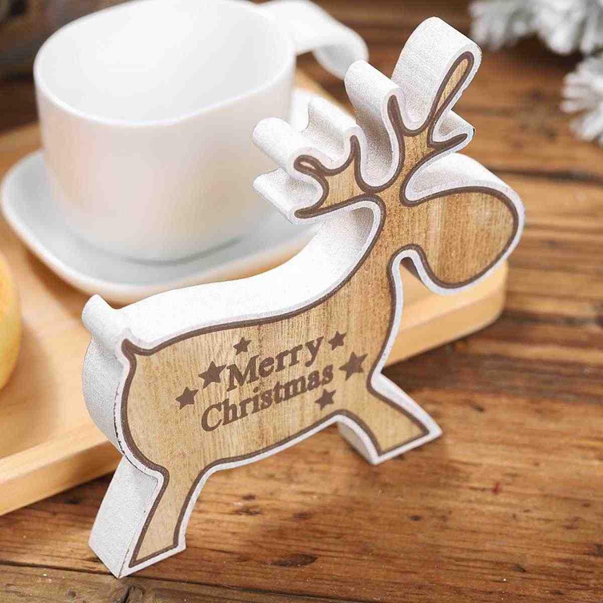 decorazioni-natalizie-legno-tavola
