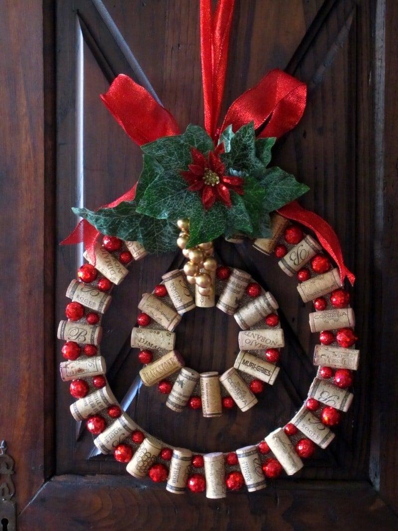decorazioni-natalizie-tappi-sughero-ghirlanda