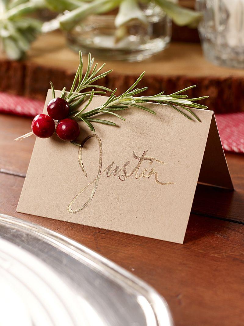 segnaposti-natalizi-originali-vischio