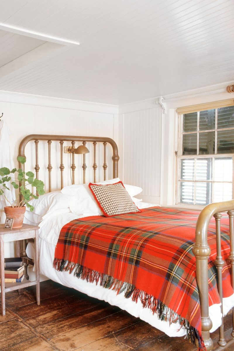 stile-cozy-camera-letto-coperta-vintage