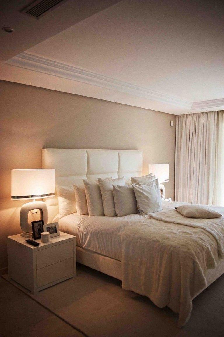 camera-letto-beige-semplice