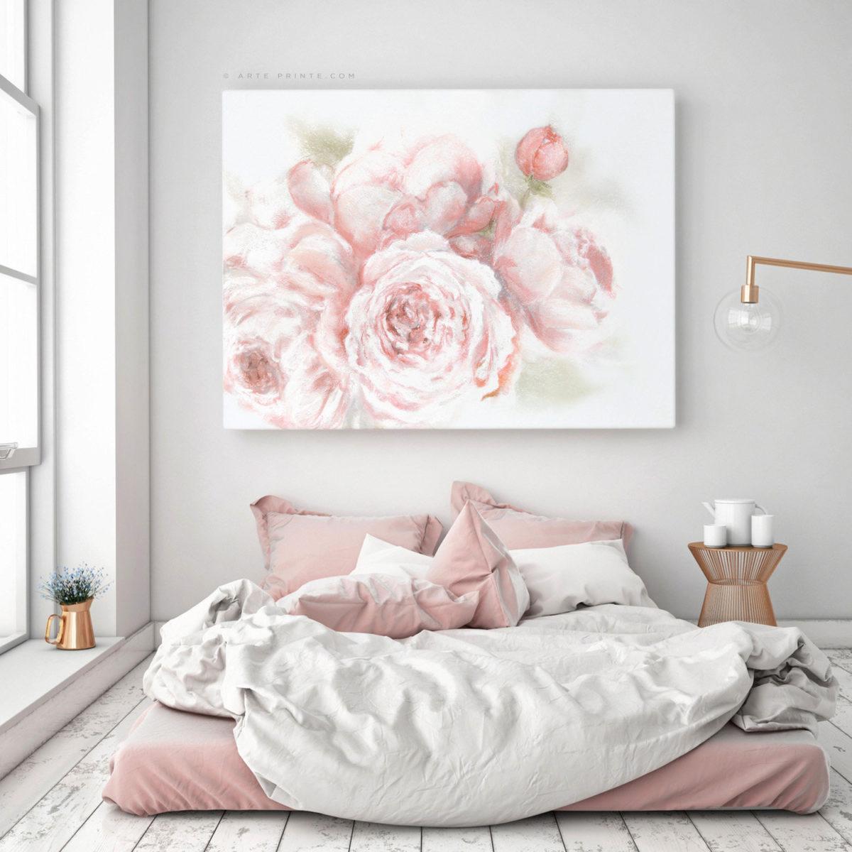 camera-letto-rosa-pastello-abbinamento-bianco