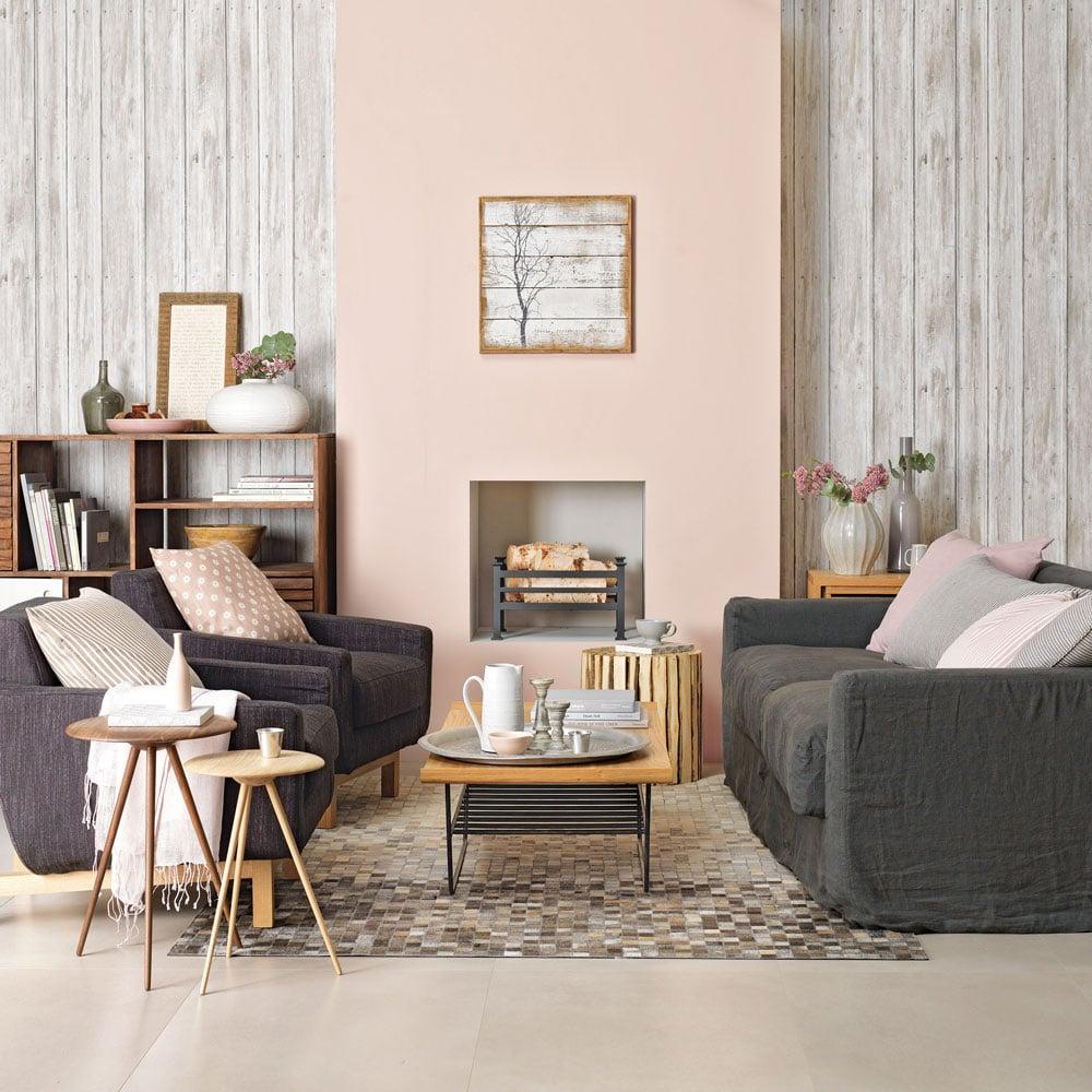 color-aragosta-soggiorno-abbinamento-grigio