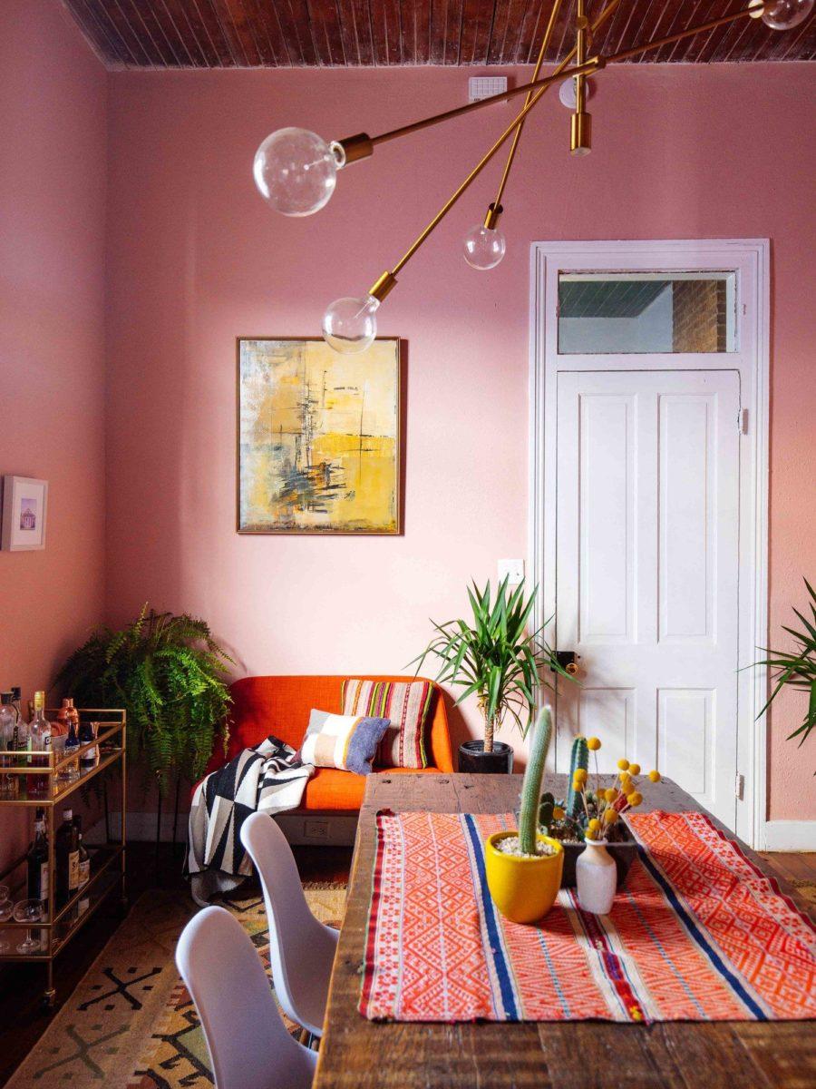 color-aragosta-soggiorno-parete