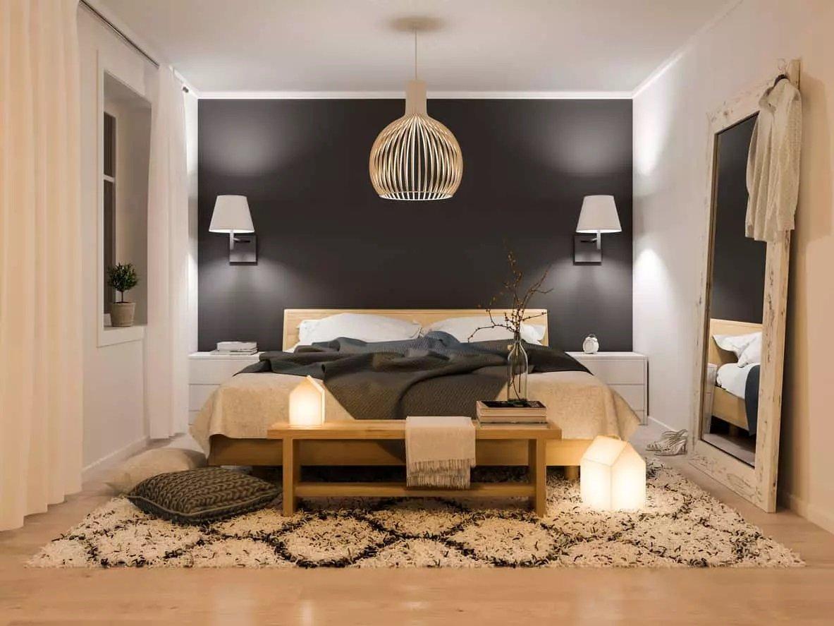 color-kaki-camera-letto-lusso