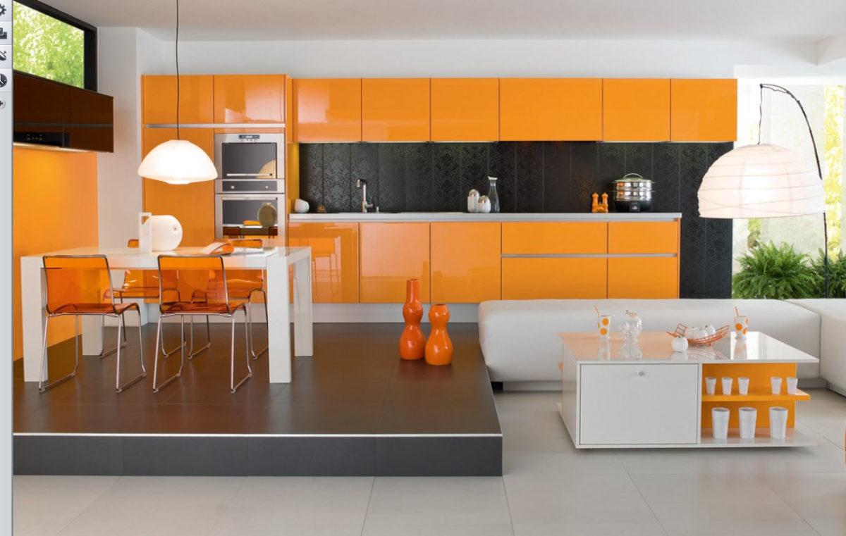 cucina-arancione-sopplaco