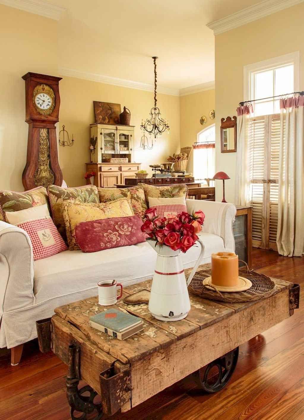 soggiorno-stile-country-tavolino