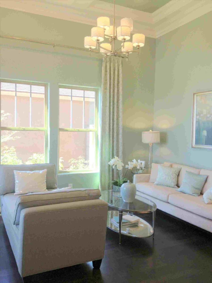 soggiorno-verde-menta-classico