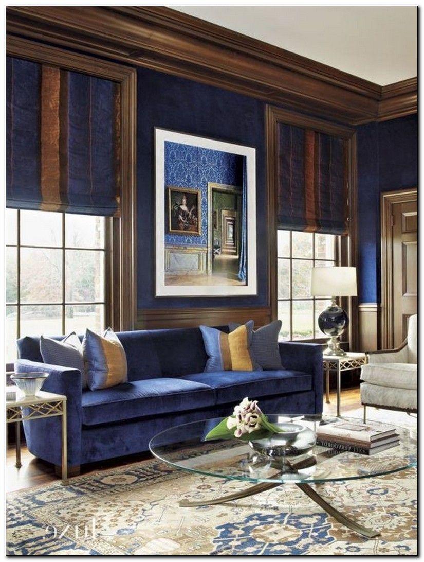 colore-blu-reale-soggiorno-classico