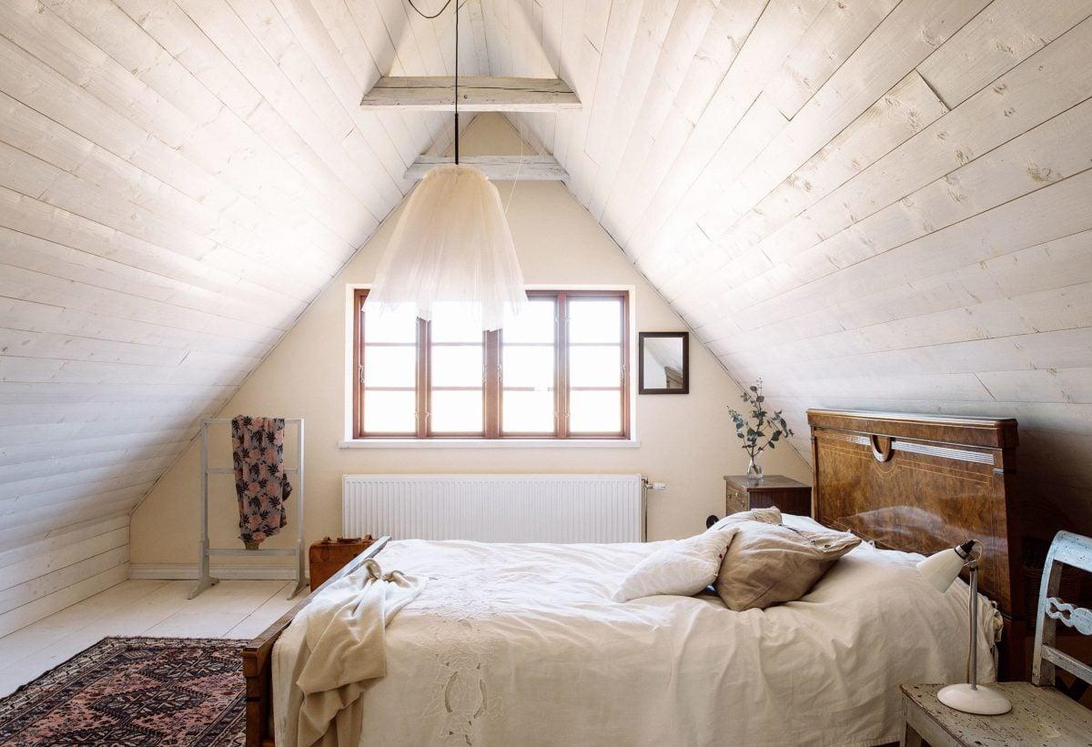 mansarda-shabby-chic-camera-letto