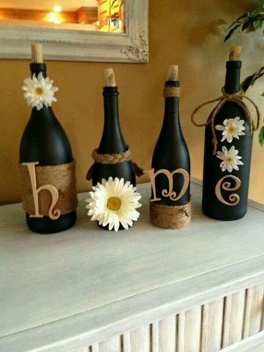 riciclare-bottiglie-vetro-decorazione