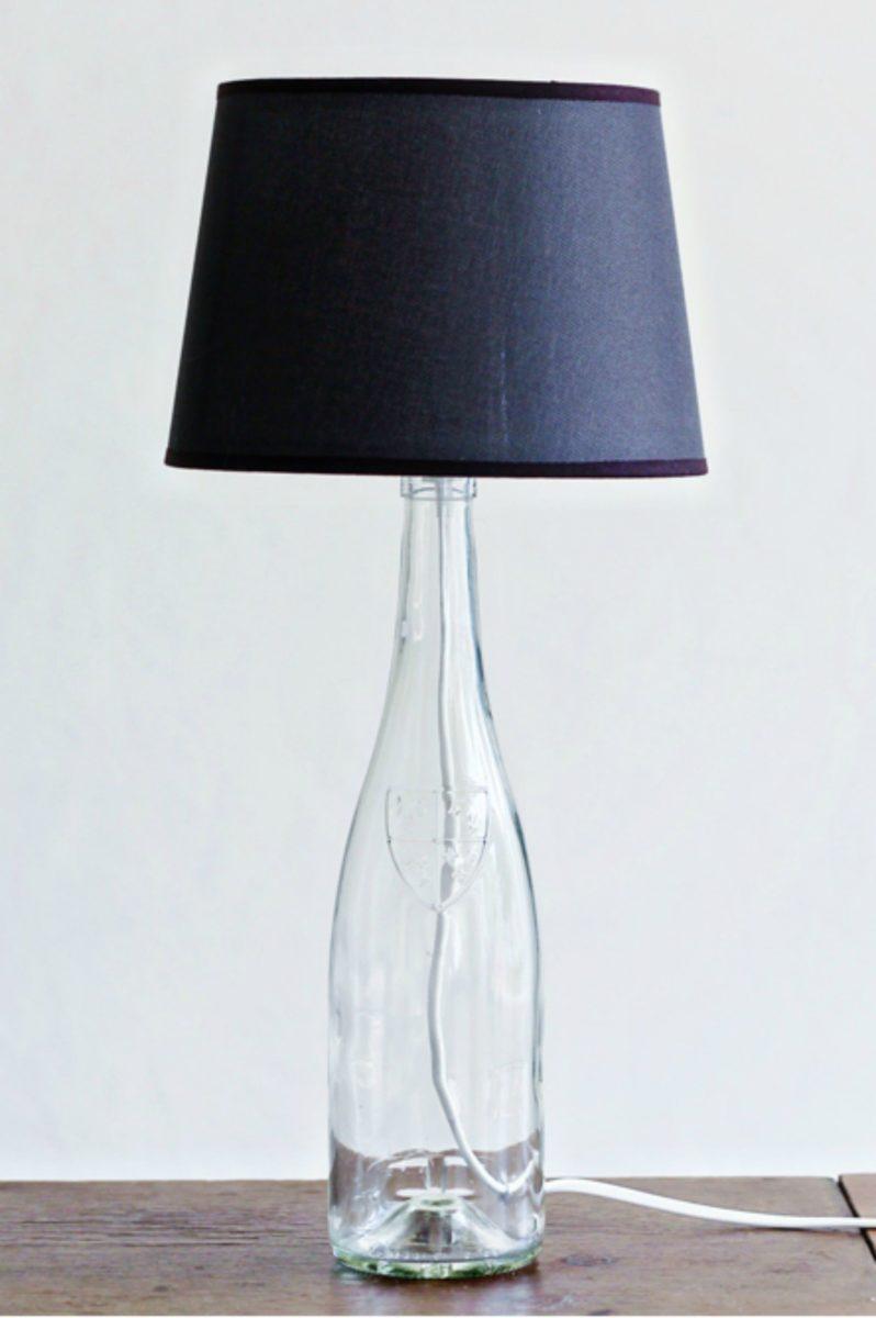 riciclare-bottiglie-vetro-lampada