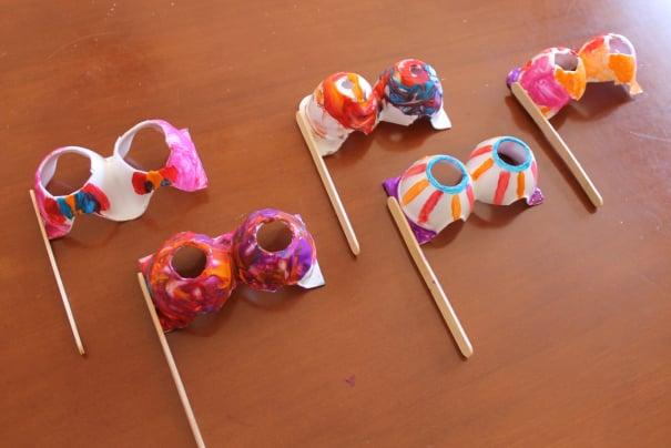 riciclare-cartoni-uova-idee-maschera