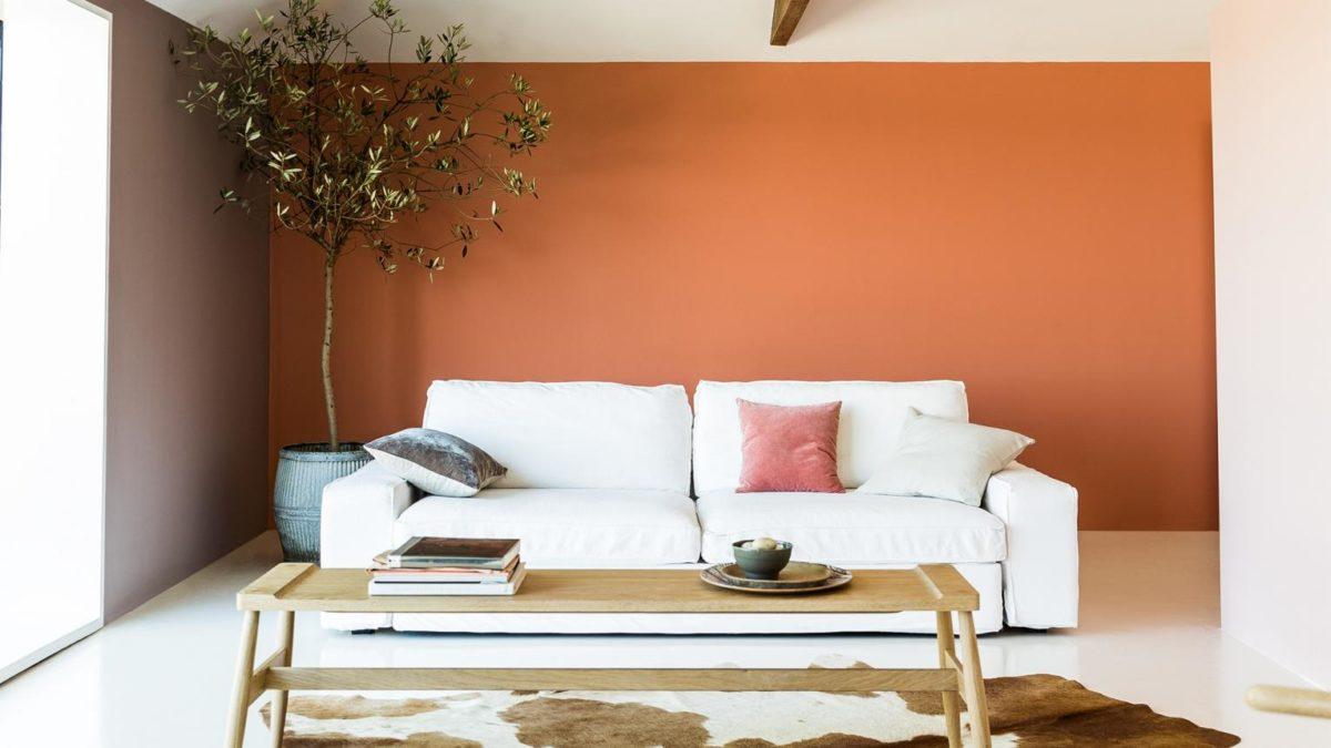 soggiorno-arancione-minimal
