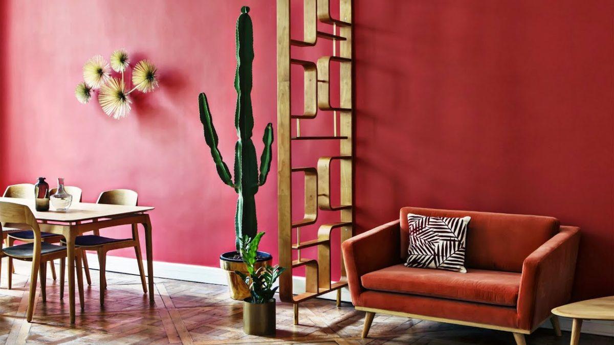 soggiorno-color-rosso-bohemien