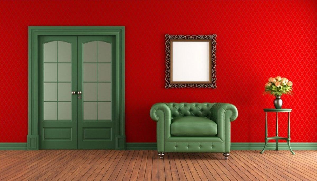 soggiorno-color-rosso-verde