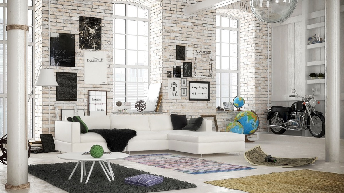 soggiorno-mattoni-angolo-loft