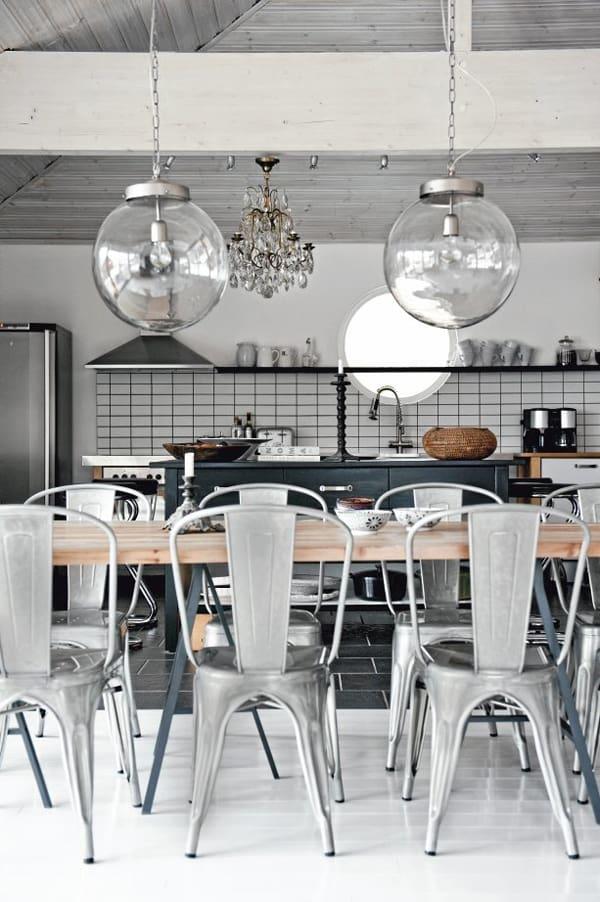 cucina-stile-scandinavo-illuminazione
