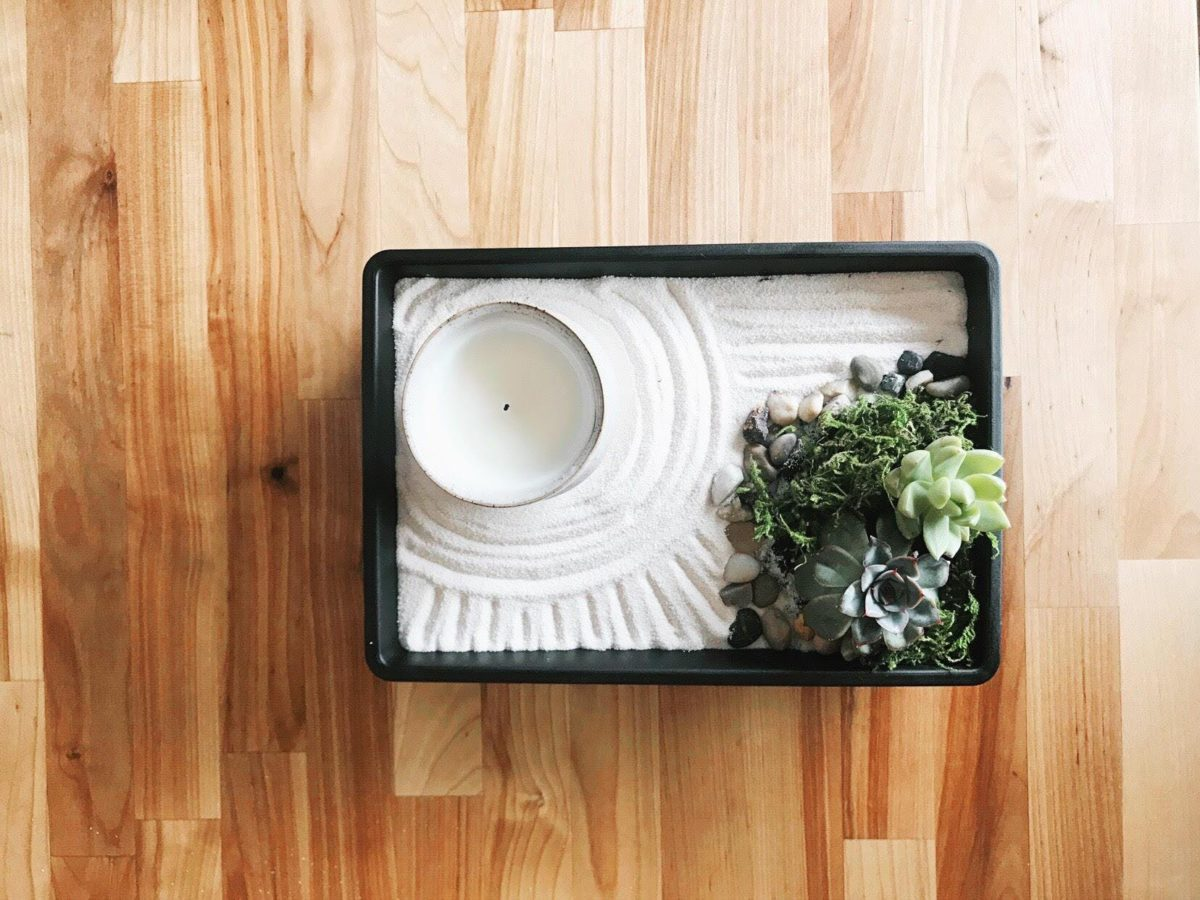 Fai Da Te Giardino Zen il giardino zen: l'idea di rilassarsi in maniera ecologica
