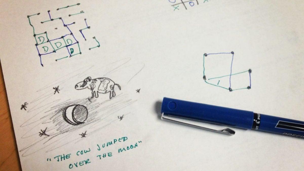 Giochi Di Pulire La Casa 5 giochi semplici da fare con carta e penna