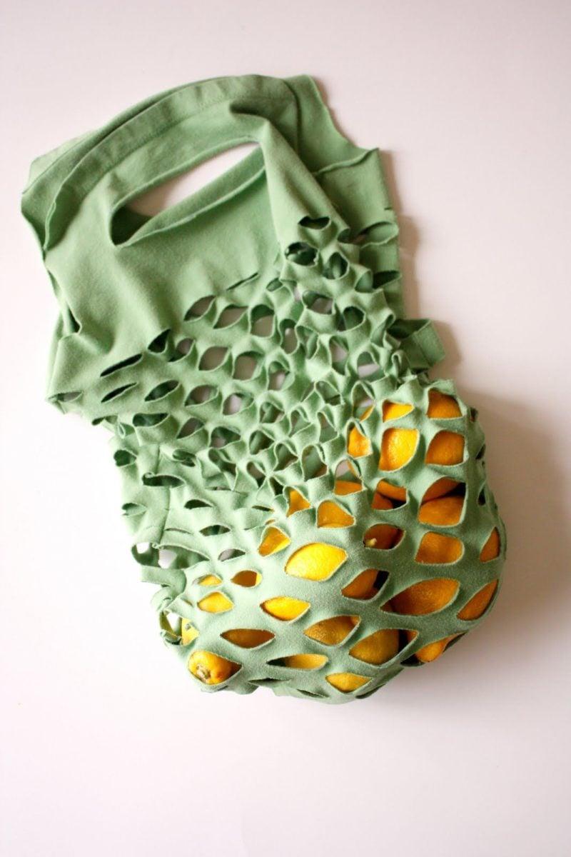 riciclare-vecchie-magliette-sacchetto-spesa