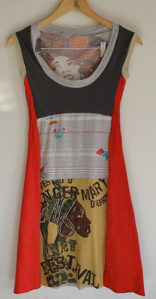 riciclare-vecchie-magliette-vestito