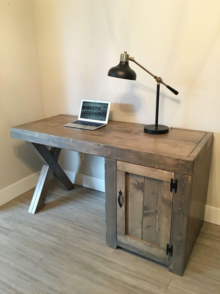 scrivania-fai-da-te-cassetto
